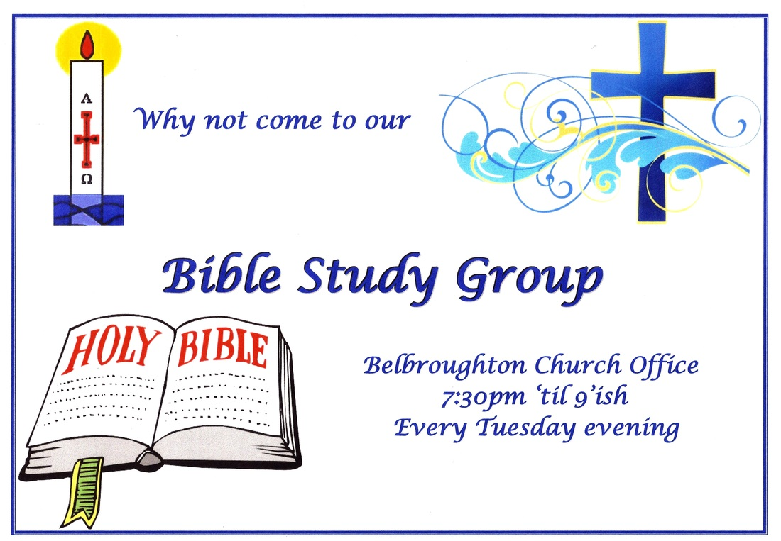 bible study group advert