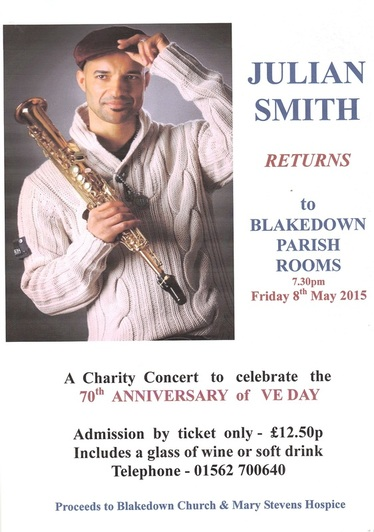 The benefice mission group; Julian Smith concert poster