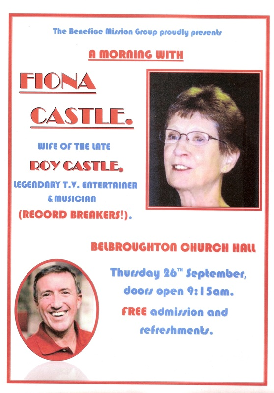 A morning with Fiona Castle