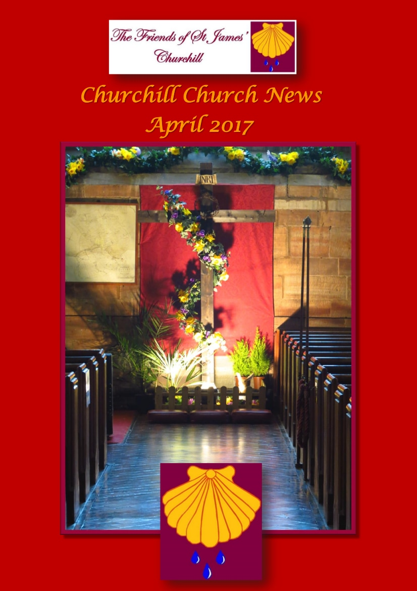 Churchill Church News March edition cover