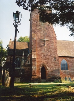 Churchill church photo