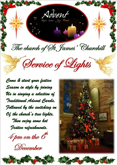 Service of Lights 2015 poster